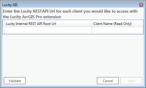 Lucity ArcGIS Pro Extension