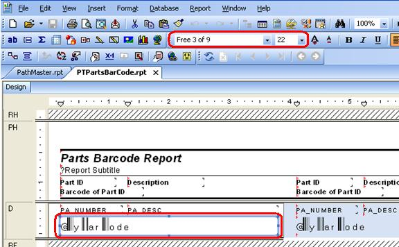Barcode Reports
