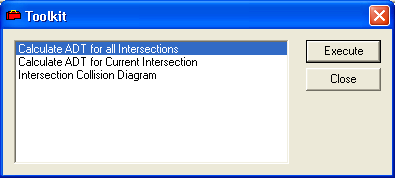 Creating Intersection Collision Diagrams